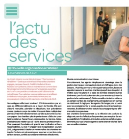 Article magazine CPAM