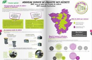 Dossier gestion des déchets