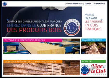 Un site pour le bois français
