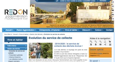Collecte des déchets - Redon
