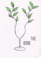 etiquette vin illustration